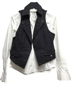 Ann Taylor LOFT Dark Weekend Vest