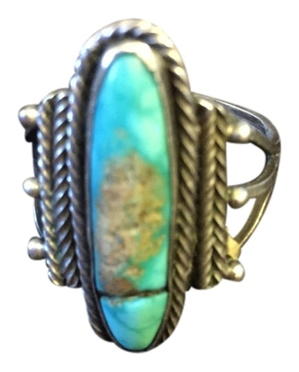 Preload https://item3.tradesy.com/images/old-silver-turquoise-ring-3771277-0-0.jpg?width=440&height=440