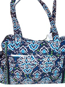 Vera Bradley Ink Blue Diaper Bag