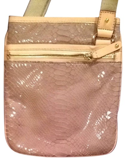 Preload https://item3.tradesy.com/images/michael-kors-lavendar-and-beige-leather-cross-body-bag-3772582-0-0.jpg?width=440&height=440