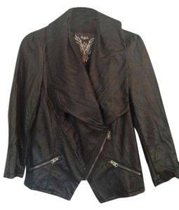 Buffalo David Bitton Rocker Leather Jacket