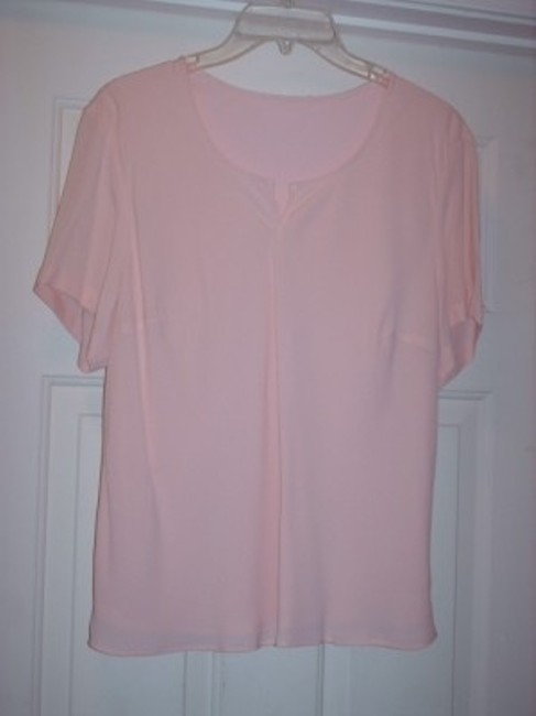 Garfield & Marks Pink 3 piece crepe skirtsuit