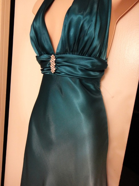 Cache Full-length Halter-style Backless Sexy Dress