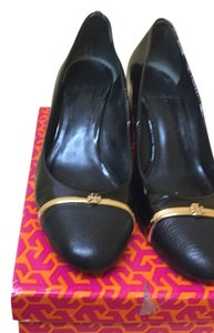 Tory Burch Black payent Formal