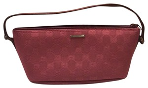 Gucci New Date Night Fabric Emblem Gg Chic Little Signature Leather Baguette