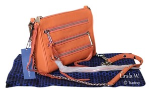 Rebecca Minkoff Leather Convertible Cross Body Bag
