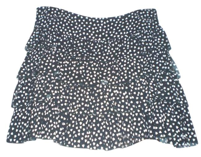 Necessary Objects Skirt Black/White