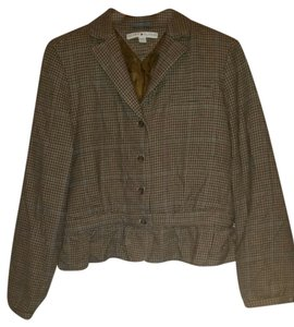 Tommy Hilfiger Brown plaids Blazer