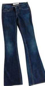 1921 Jeans Dark Denim Boot Cut Jeans-Dark Rinse