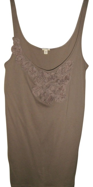 Preload https://item1.tradesy.com/images/jcrew-taupe-tank-topcami-size-8-m-3774010-0-0.jpg?width=400&height=650