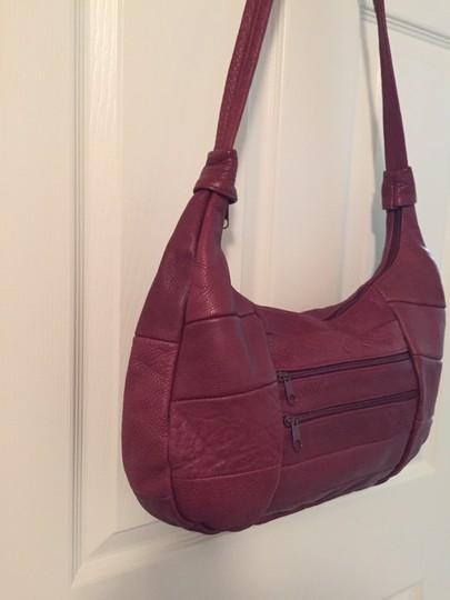 Mexican Leather Cross Body Bag