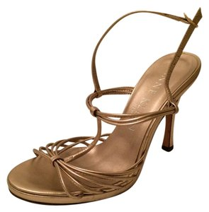 Anne Klein gold/bronze Sandals