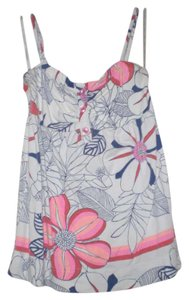Roxy Top White/Floral
