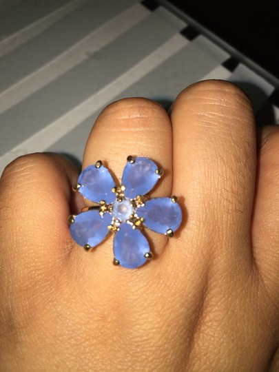 Coach Coach Periwinkle Flower Ring