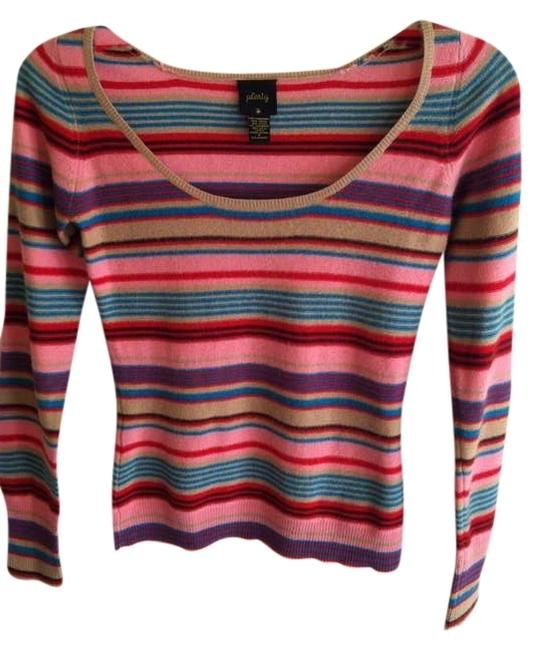 Preload https://img-static.tradesy.com/item/377502/plenty-by-tracy-reese-pink-multicolor-stripes-anthropologie-sweaterpullover-size-petite-2-xs-0-0-650-650.jpg
