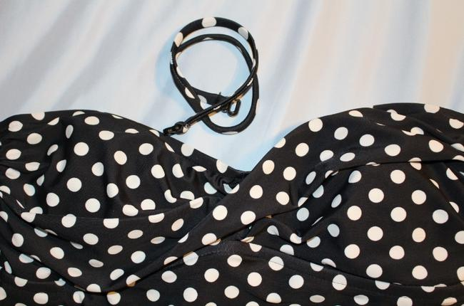 Mossimo Supply Co. Polka dot swim top