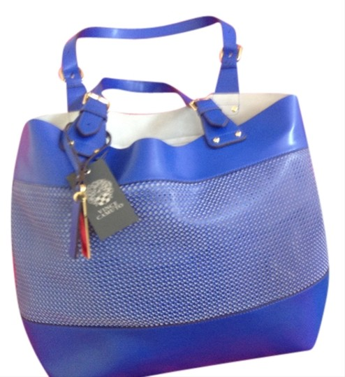 Preload https://item1.tradesy.com/images/vince-camuto-w-perf-100-group-perf-totematerial-pemama-dazzling-blue-genuine-leather-tote-3776170-0-0.jpg?width=440&height=440
