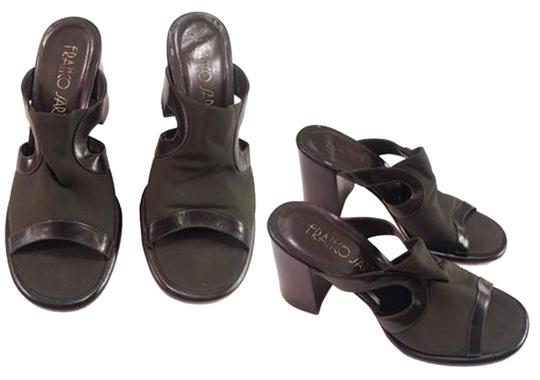 Franco Sarto Brown Sandals
