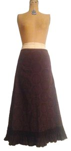 J.Crew Maxi Maxi Skirt Brown