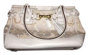 Coach New Satchel in White