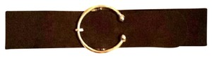 ALDO Aldo brown leather suede like belt.