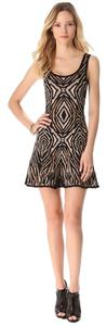Torn by Ronny Kobo short dress Zebra Animal Print Bodycon on Tradesy
