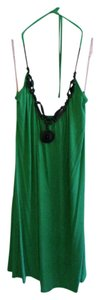 Buffalo David Bitton short dress Green Halter Beaded on Tradesy