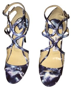 Jimmy Choo Brand New blue multi Sandals