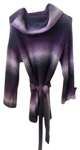 RXB Cowl Neck Purple Plum Sweater