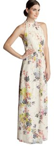 Floral Maxi Dress by Ted Baker Maxi Summer Spring Belted Halter Keyhole