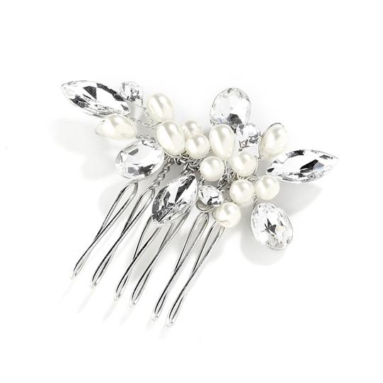 Preload https://item1.tradesy.com/images/mariell-crystal-pearl-and-hand-made-hair-comb-4030hc-tiara-3778615-0-0.jpg?width=440&height=440