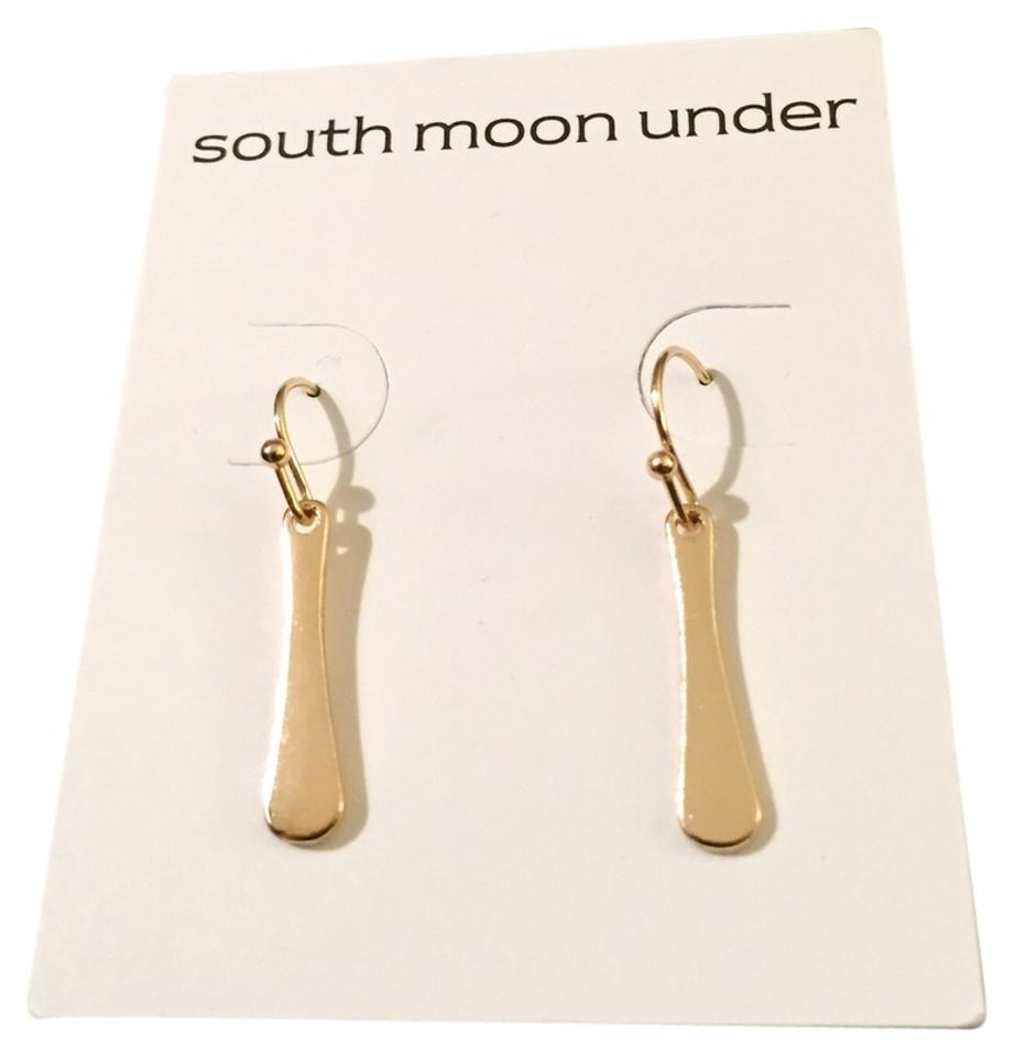 South Moon Under Gold Tone Drop