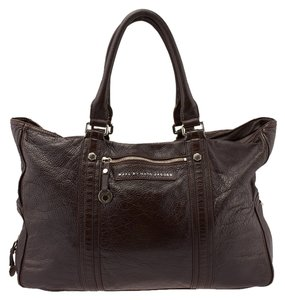 Marc by Marc Jacobs Leather Tote in Brown
