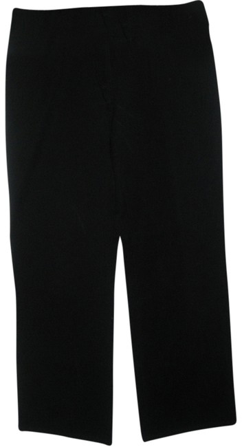 Eileen Fisher Stretch Straight Pants Black
