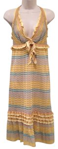 Missoni short dress Multi Zig Zag Cocktail Halter Backless Knit on Tradesy