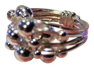 Other NEW! .925 Sterling Silver CHA CHA BEAD BALL ARTISIAN Ring 9.9 grams Size 6 R1203