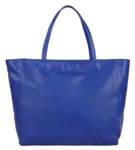 Barneys New York Tote in Cobalt Blue