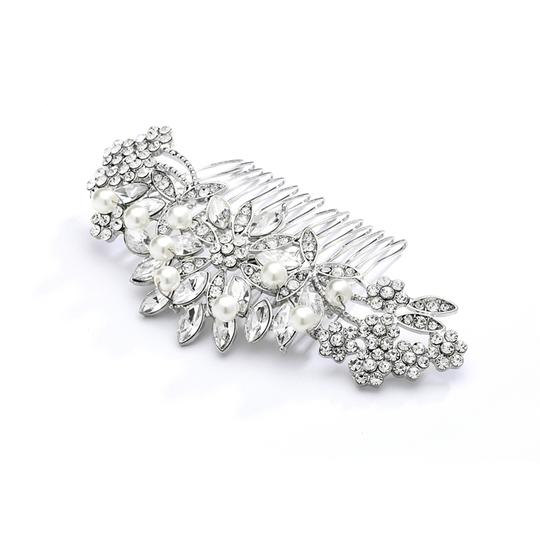 Preload https://item2.tradesy.com/images/mariell-silver-pearl-crystal-lucite-sunburst-or-prom-comb-4047hc-tiara-3779656-0-0.jpg?width=440&height=440