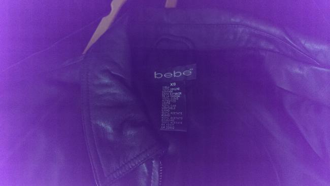 bebe Logo Motorcycle Jacket