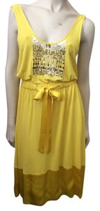 Tracy Reese short dress Yellow on Tradesy