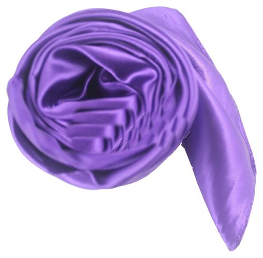 Other Purple Satin Look Scarf Free Shipping