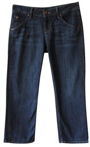 Hudson Jeans Capri/Cropped Denim-Medium Wash