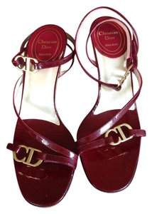 Dior Ruby red Sandals