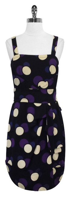 Preload https://item4.tradesy.com/images/marc-by-marc-jacobs-black-and-purple-polka-dot-silk-mid-length-short-casual-dress-size-4-s-3780313-0-0.jpg?width=400&height=650