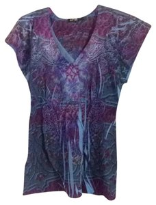 Apartment 9 T Shirt Blue Purple Multi