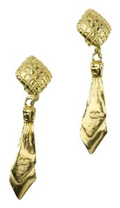 Chanel Chanel Vintage Tie Earrings