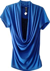 Drama Gold Top Royal Blue