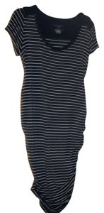 Liz Lange Maternity for Target Blue & White Striped Maternity Dress