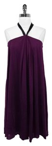 3.1 Phillip Lim short dress Purple Silk Tent Halter on Tradesy