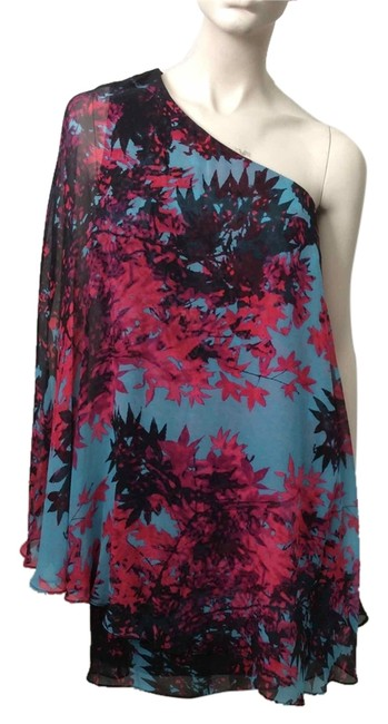 Preload https://item3.tradesy.com/images/tracy-reese-teal-pink-black-above-knee-cocktail-dress-size-2-xs-3782062-0-0.jpg?width=400&height=650